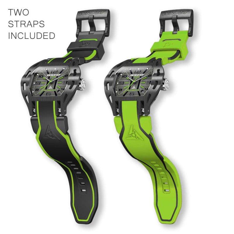 PH3 Sportuhr mit grünen Details