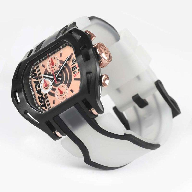 Reloj con Correa Transparente Hombre