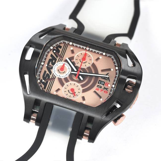 Transparent Clear Watch Wryst