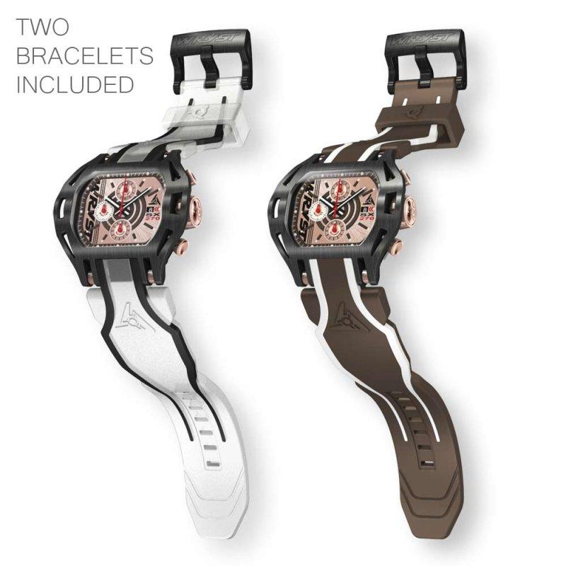 Correa de reloj transparente Wryst SX270