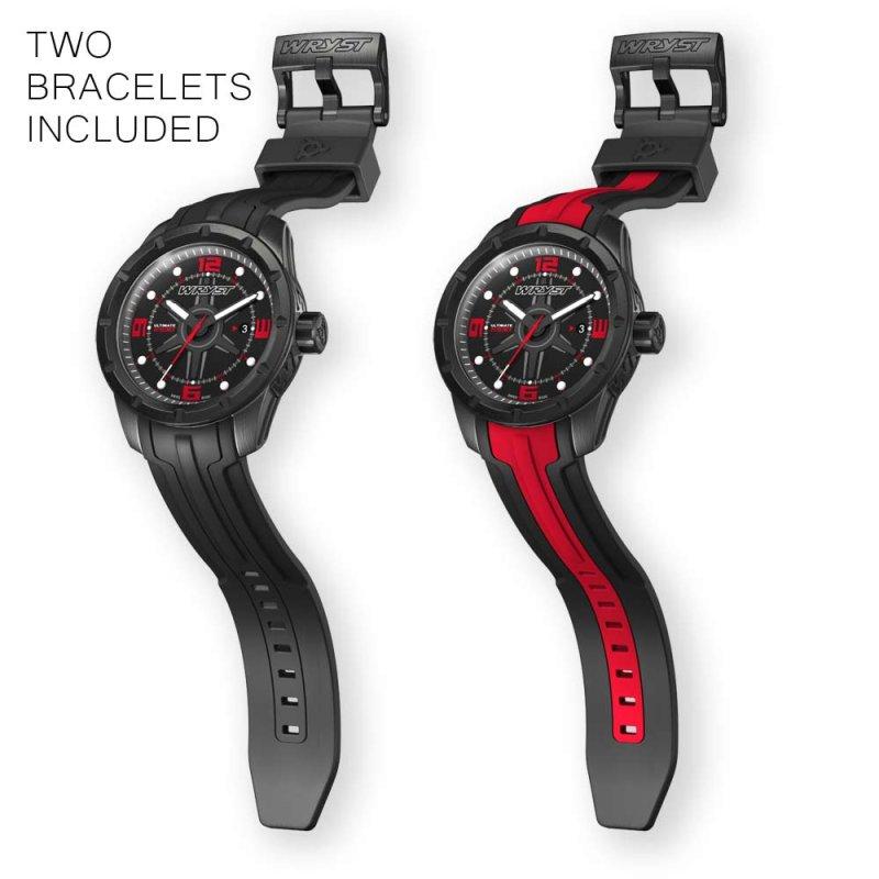 Schwarz Schweizer Uhren Wryst ES60