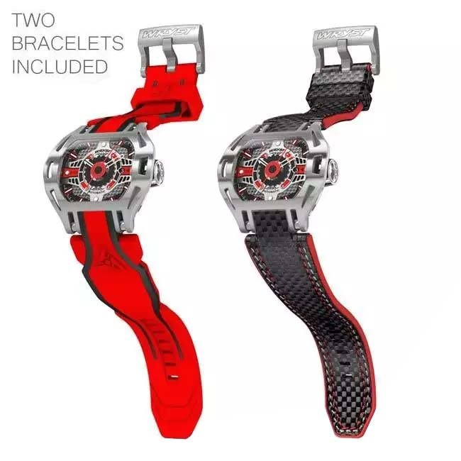 Red Automatic Luxury Mens Watch