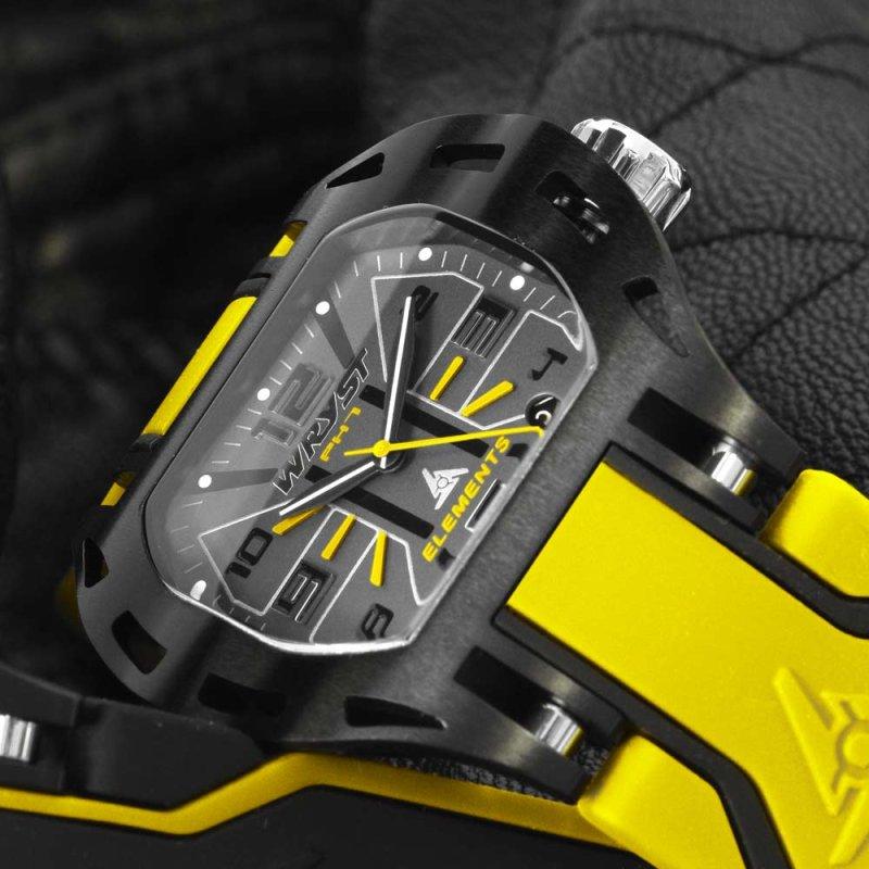 Wryst Gelb Uhren Schweizer