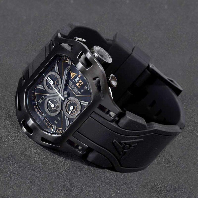 Reloj Negro Sobre Negro Wryst SX210
