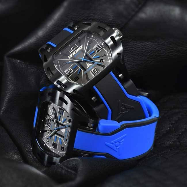 Black and Blue Diver Watch