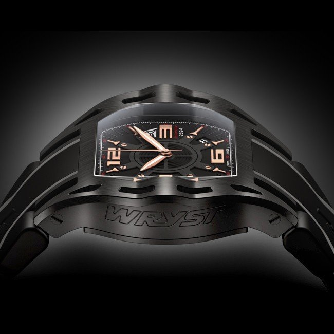 Rose Gold  & Black Sport Watch Automatic ETA 2824