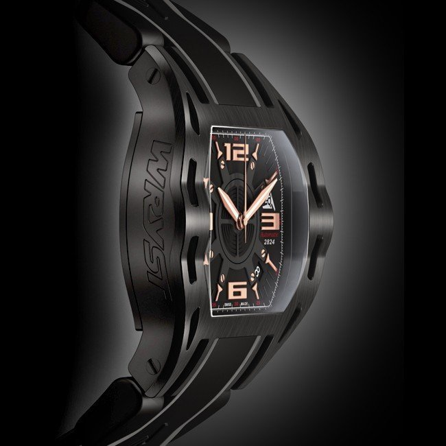 Automatic Black-Sport-Uhr