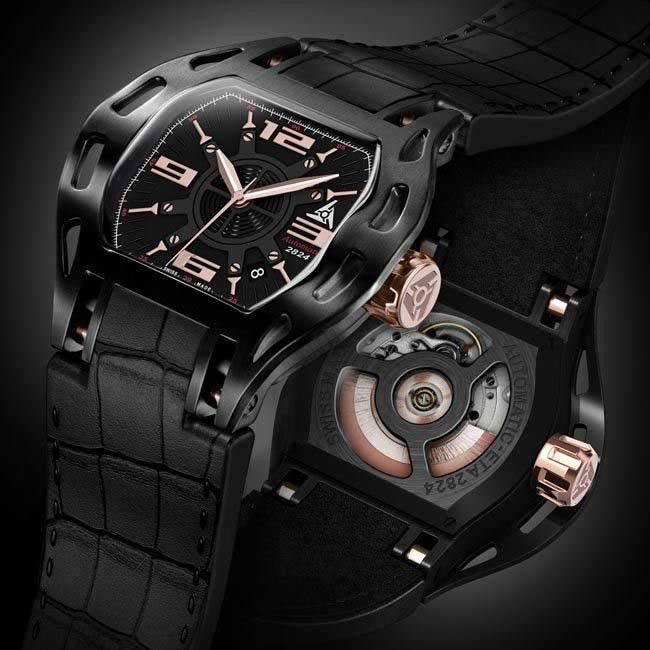 Montre Automatique de Sport Luxe Swiss Made