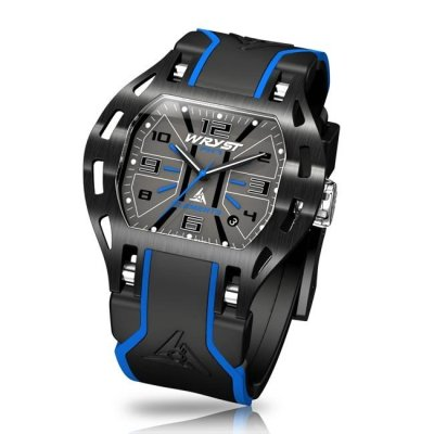 Blue Sports Watch in black and blue
