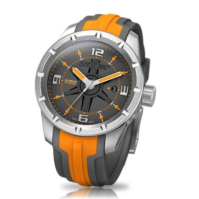 0bcc5a613 Orange Swiss Sport Watch WRYST ULTIMATE ES50 for men limited edition