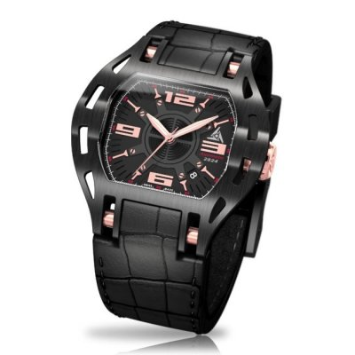Swiss Black Sport Watch - Wryst Automatic 2824