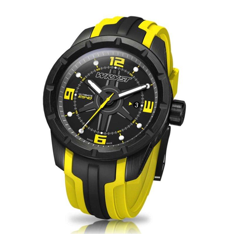 Schwarz Schweizer Uhren Wryst Ultimate ES40