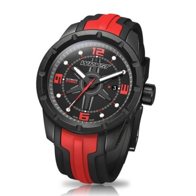 Black and Red Swiss Watch Wryst Ultimate ES60