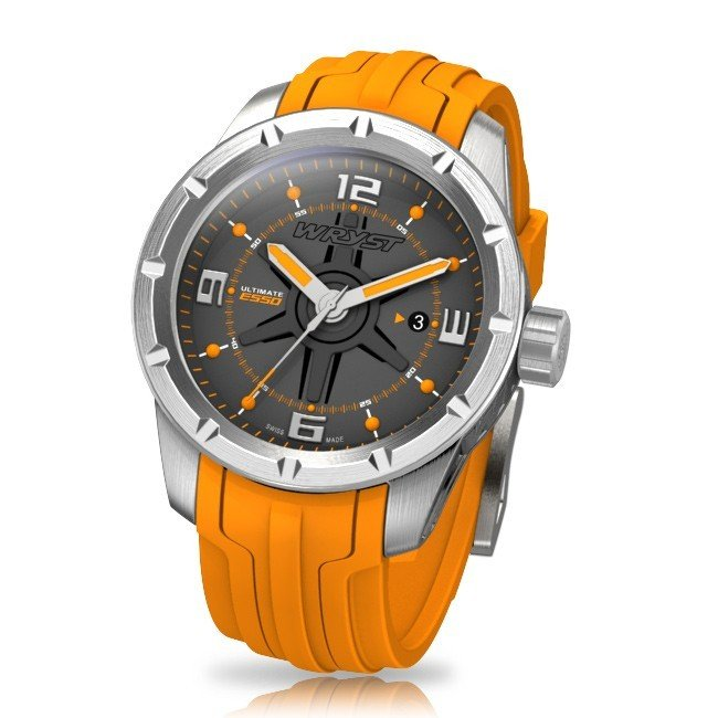 Orange Sport-Uhr Wryst Ultimate ES50