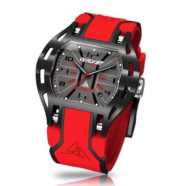 Reloj Suizo Rojo Wryst Elements PH6