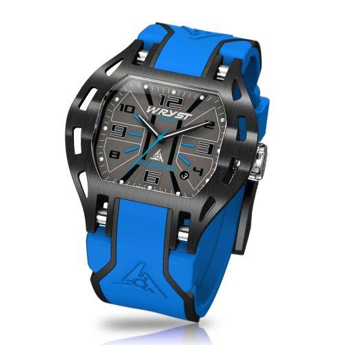 Schweiz blau Uhr Wryst PH7