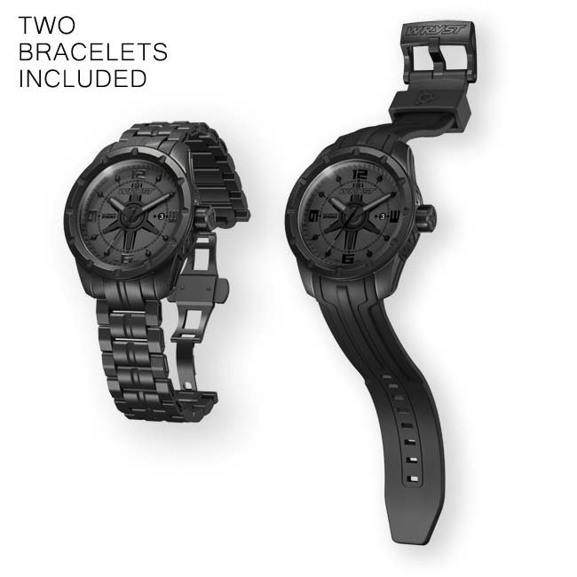 Wryst Ultimate ES20 Black Swiss Watch