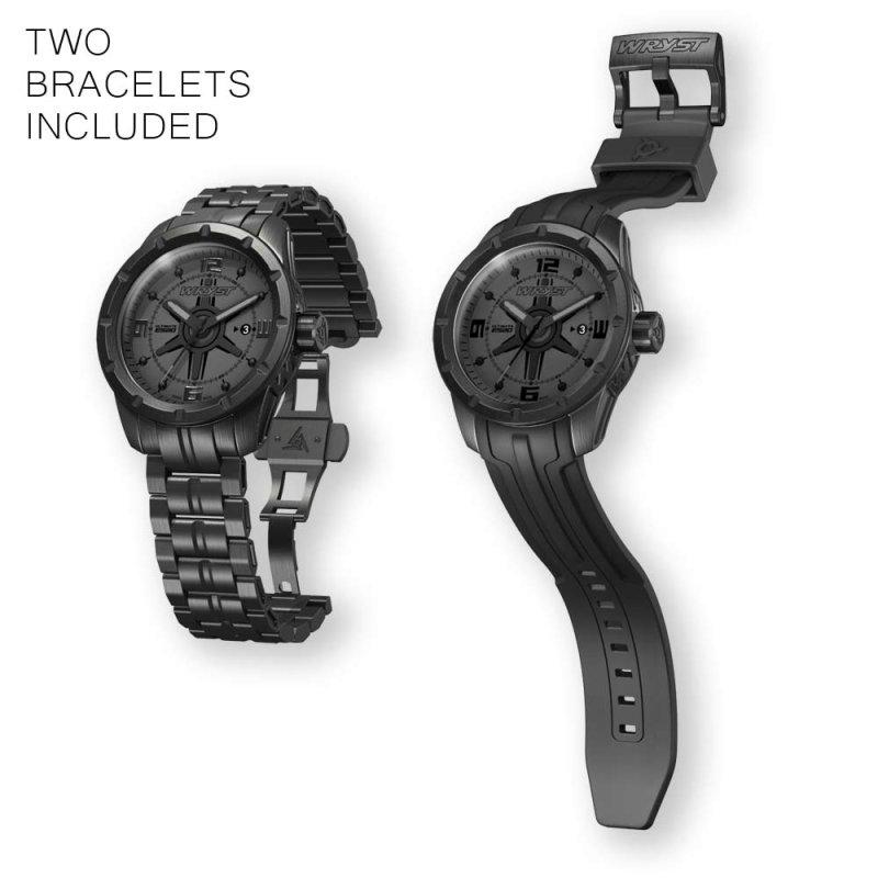 Wryst Ultimate ES20 Reloj Suizo Negro