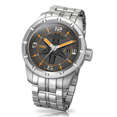 Silver Watch Mens