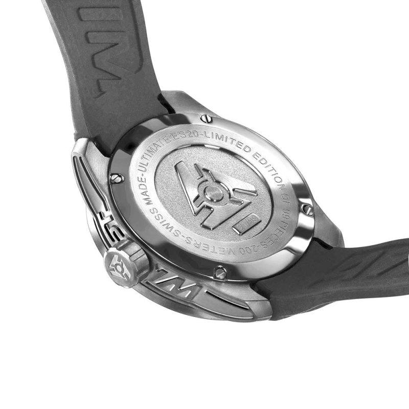 Swiss Silver Watch Mens