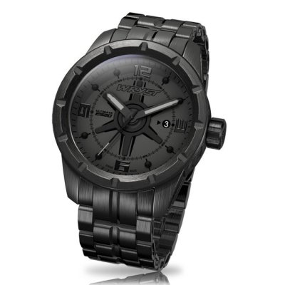 Black Stainless Steel Watch Wryst ES20