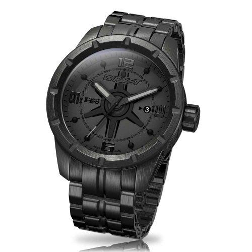 Schwarz Schweizer Uhr Wryst ES20
