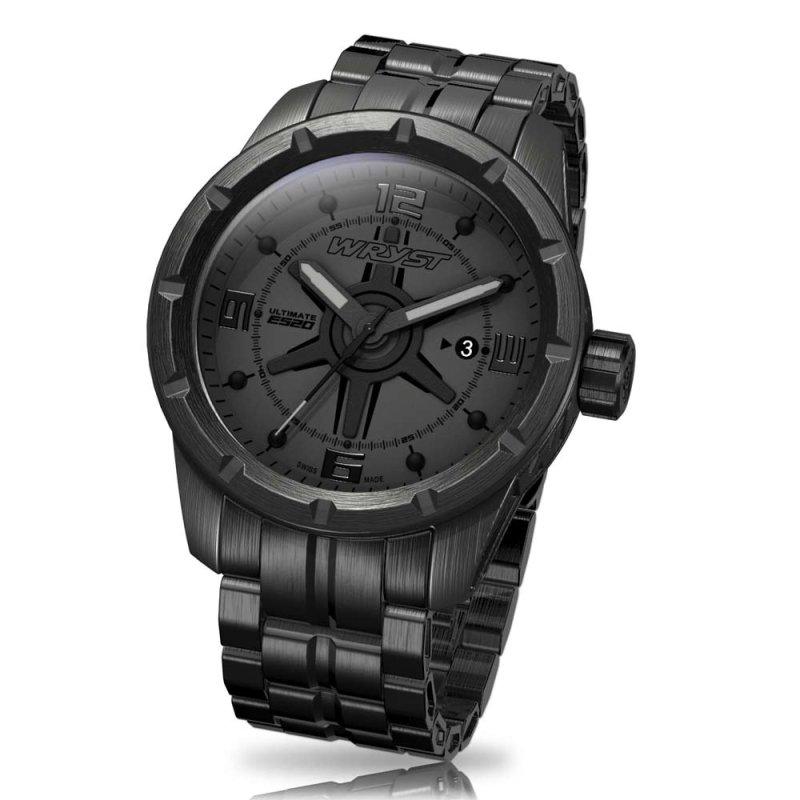 Reloj Suizo Negro Wryst ES20