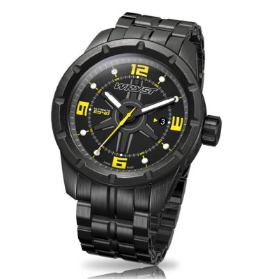 Black DLC Swiss Watch