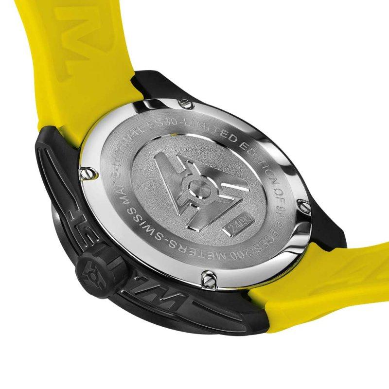 Limitierte Auflage Schwarze Schweizer Uhr