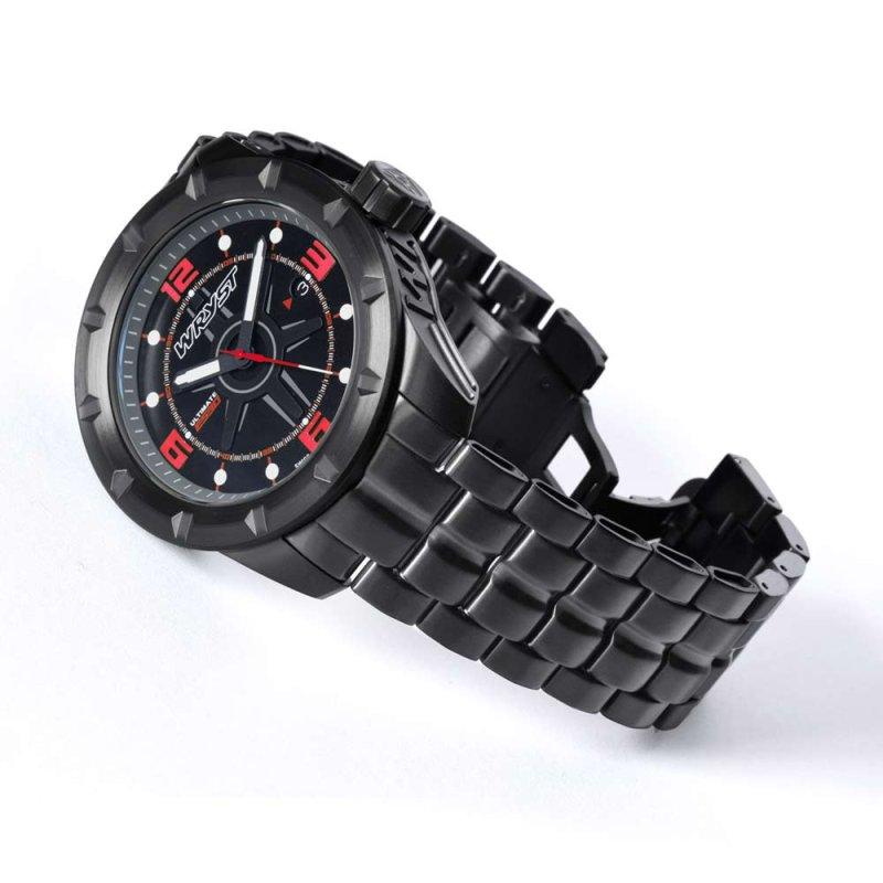 Schwarze Schweizer Sportuhr ES60