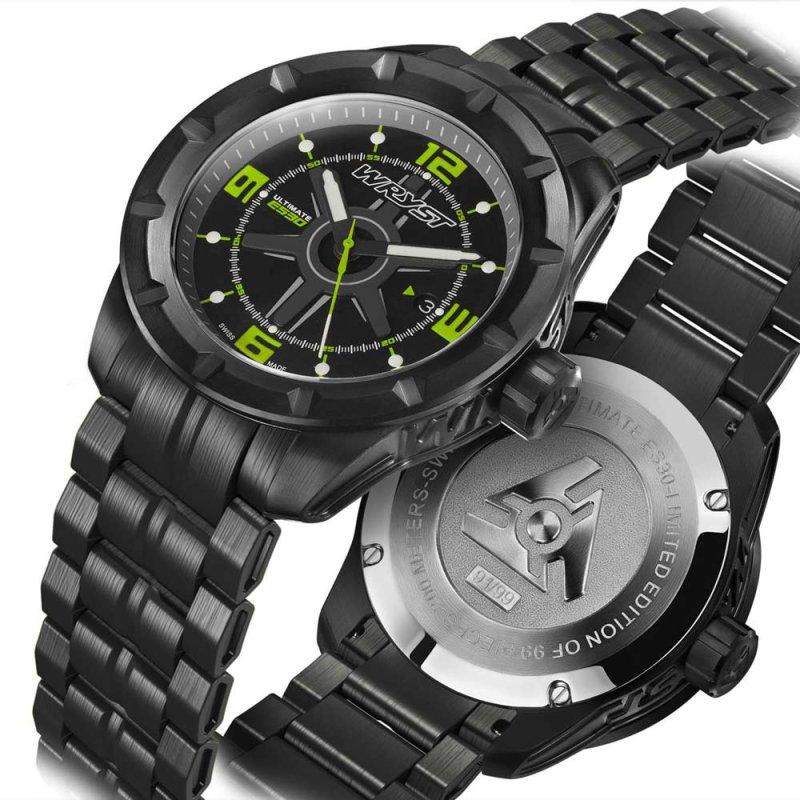 Reloj Deportivo Negro Wryst ES30