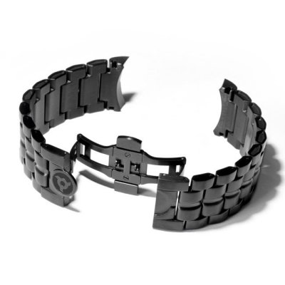 Black Swiss Watch Bracelet