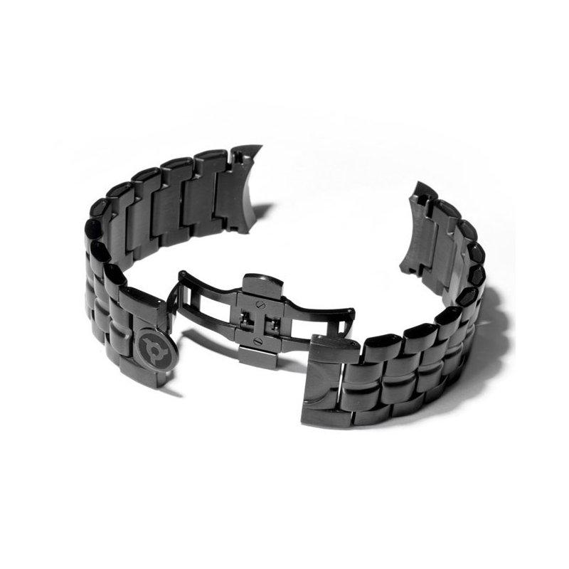 Schwarz Schweizer Uhrenarmband