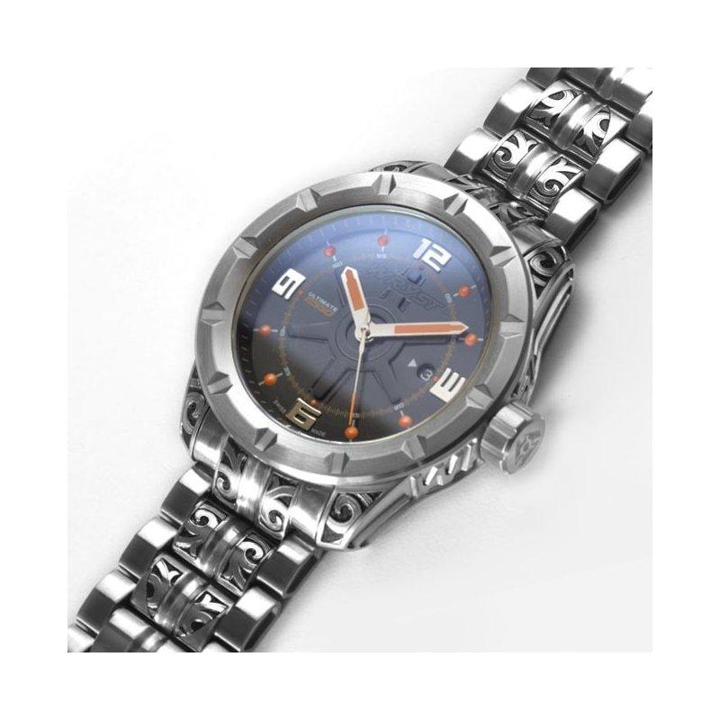 Schweizer Hand Gravierte Uhr