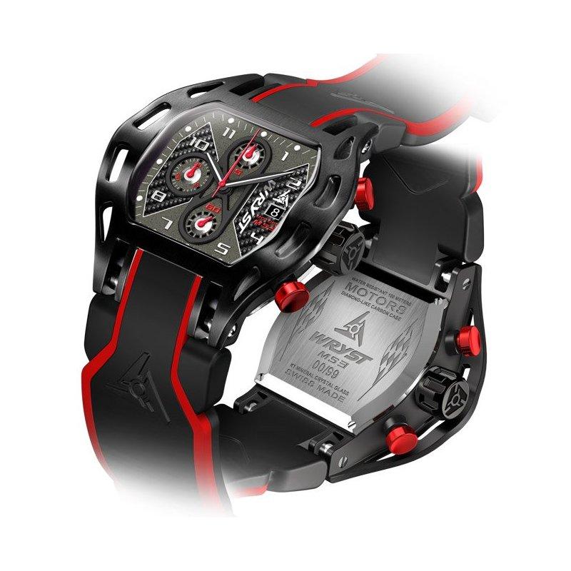 Reloj Fibra de Carbon Wryst