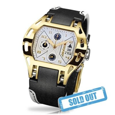Gold Swiss Watch - Wryst Shoreline LX6