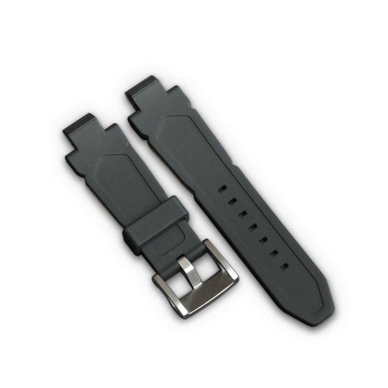 Black Red Watch Strap