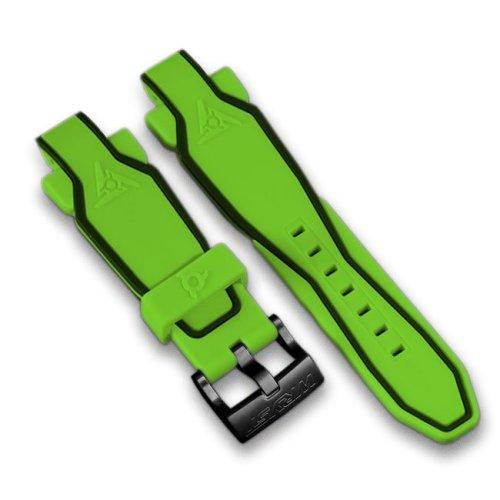 Grüne Silikon Armband