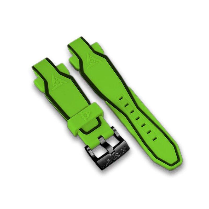 Bracelet de montre de sport vert