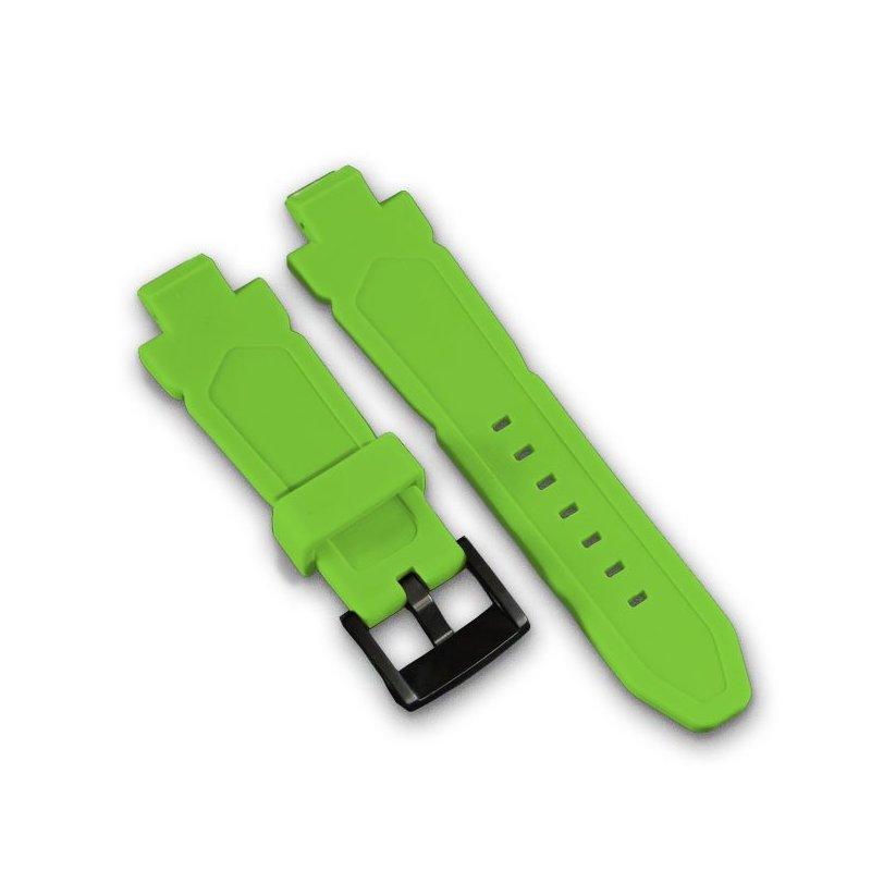 Wryst Grüne Silikon Armband