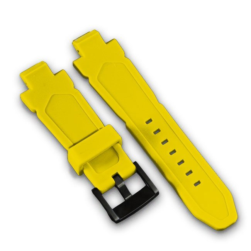 Gelbe Silikon Armband PH4