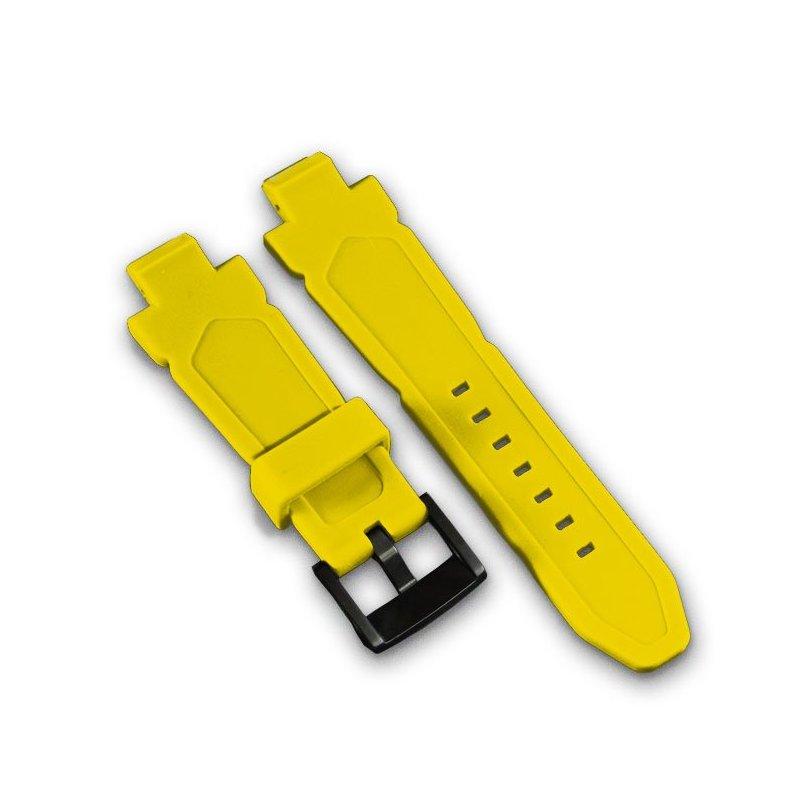 Wryst Yellow Silicone Bracelet
