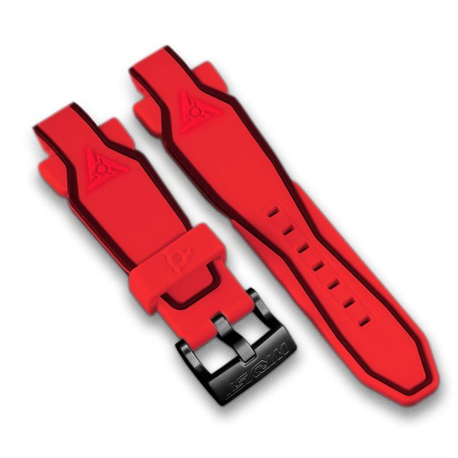 Red Silicone Bracelet Wryst