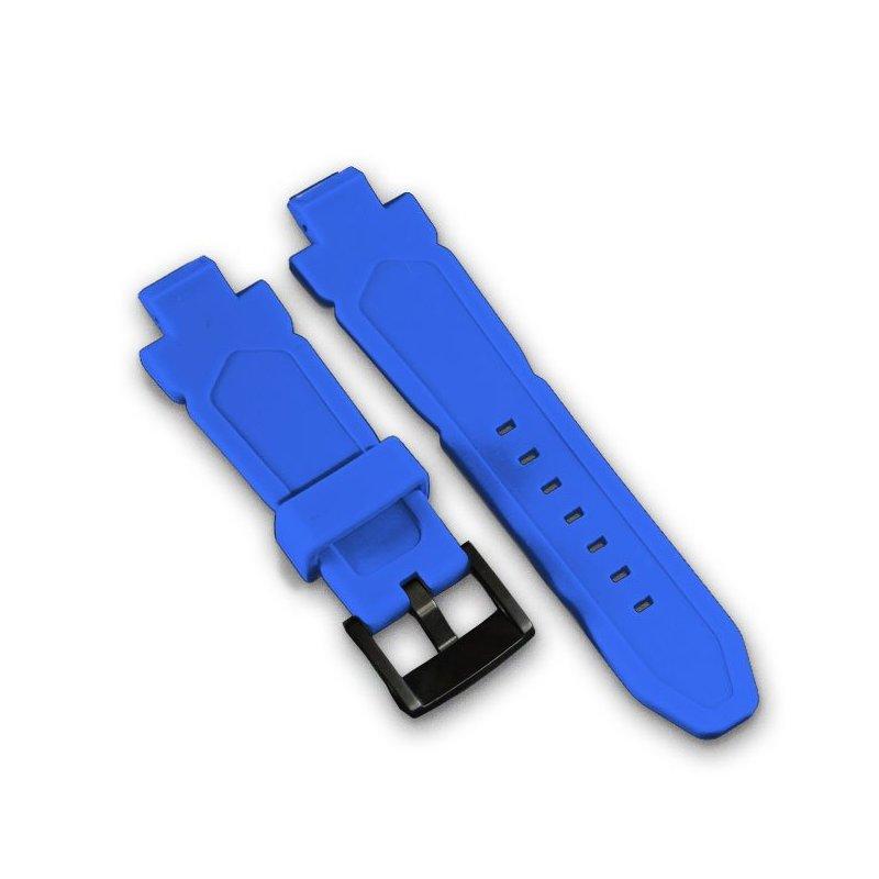 Wryst Blaue Silikon Armband