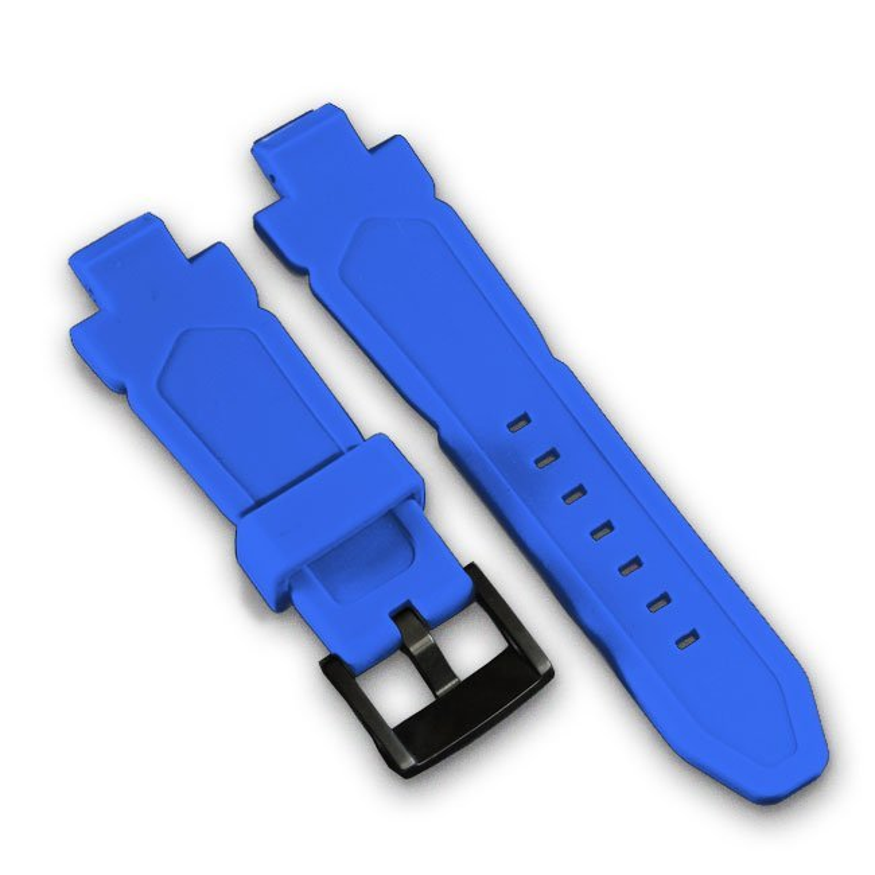 Wryst Blue Silicone Bracelet
