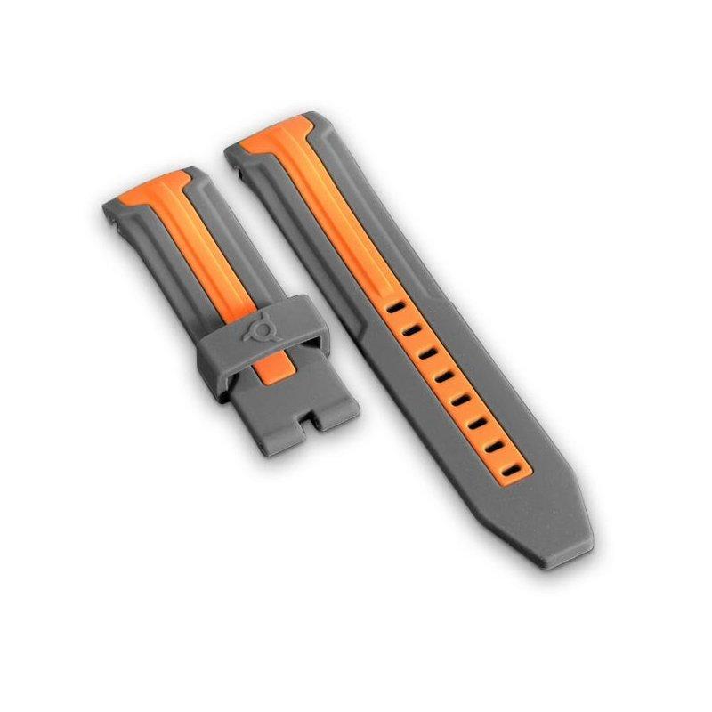 Bracelet Gris Orange Montre