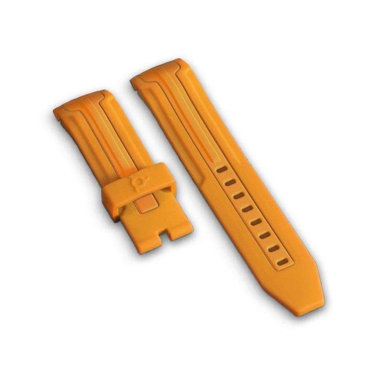 Orange silicone Bracelet ES50