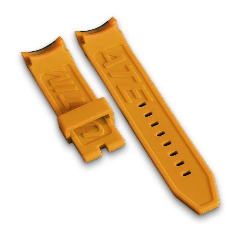 Orange Schweizer Uhrenarmband