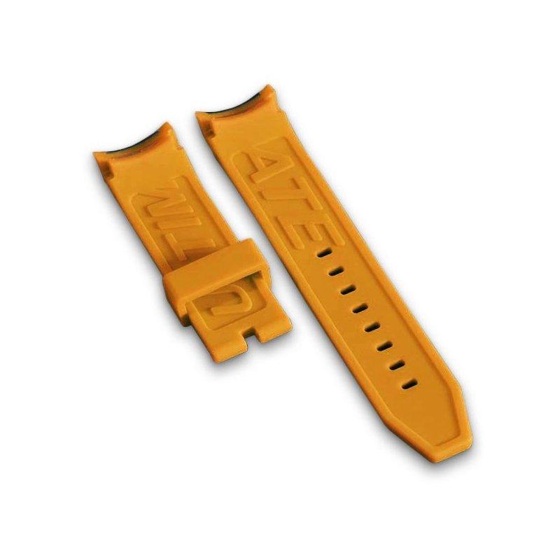 Orange Swiss Watch Bracelet