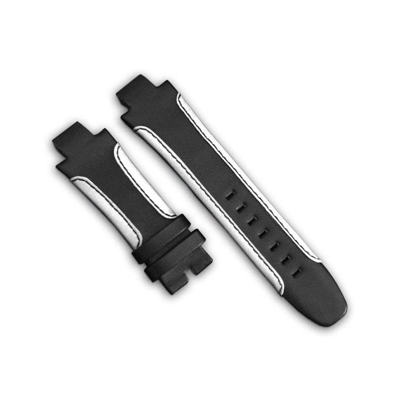 Bracelet de Montre en Cuir Luxe